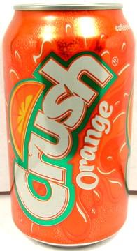 empty unopen 12 ounce can pepsi�s american orange crush